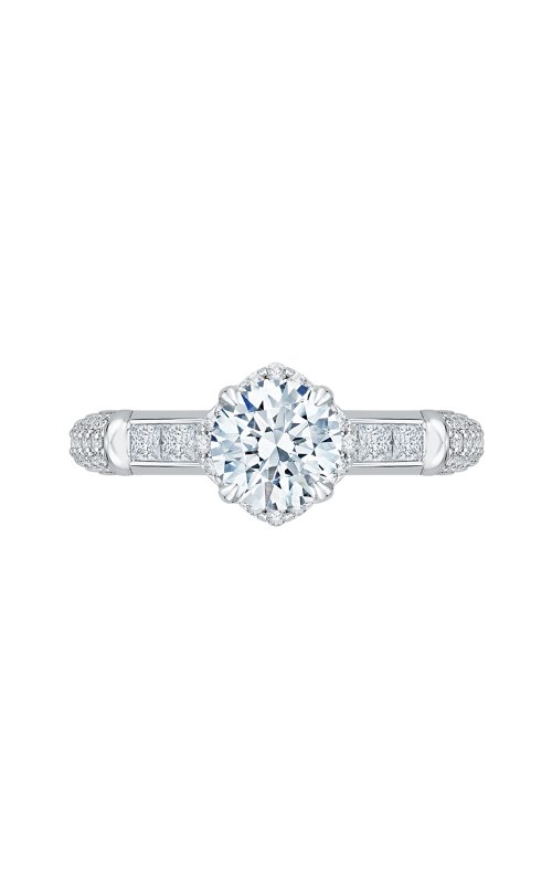 Shah Luxury Carizza Engagement ring CA0157EQ-37W product image