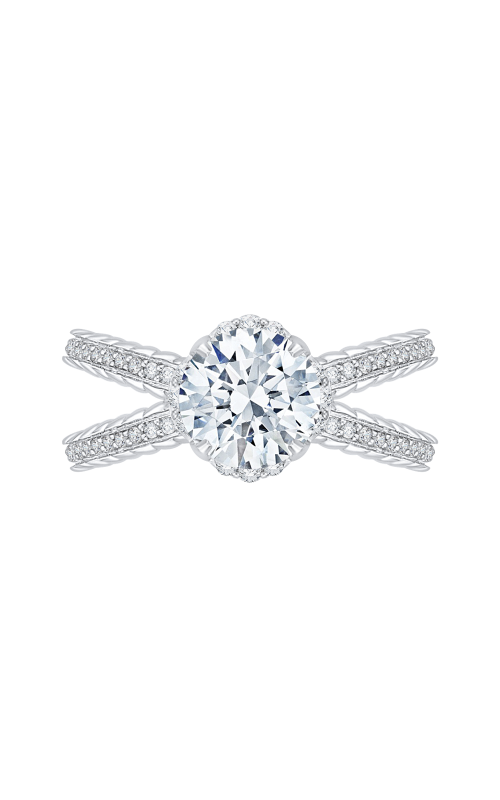 Shah Luxury Carizza Engagement ring CA0164EQ-37W-1.50 product image