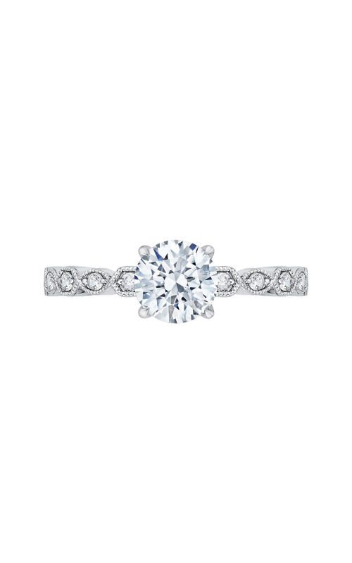 Shah Luxury Carizza Engagement ring CA0213EQK-37W product image