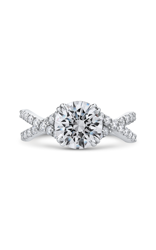 Shah Luxury Carizza Engagement ring CA0231EQK-37W-2.00 product image