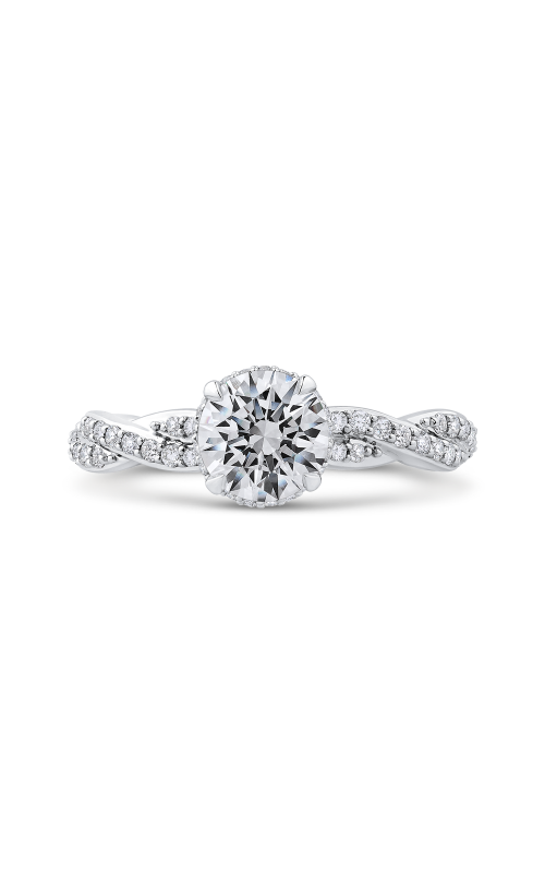 Shah Luxury Carizza Engagement ring CA0260EQ-37W-1.00 product image