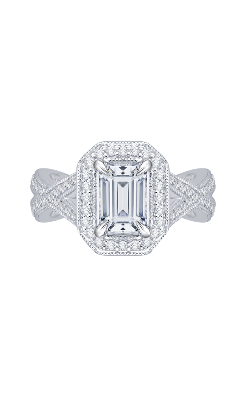 Shah Luxury Carizza Engagement ring CAE0080E-37W product image