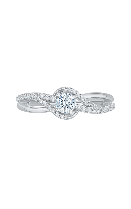 Shah Luxury Promezza Engagement ring PR0111ECH-44W-.33 product image