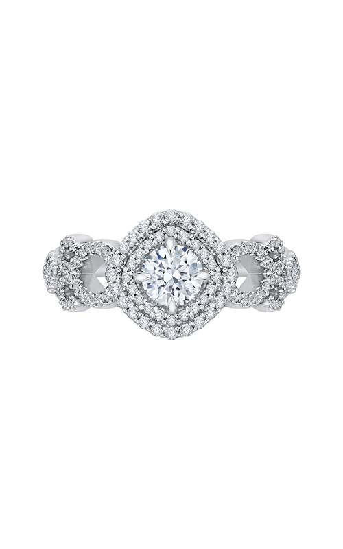 Shah Luxury Promezza Engagement ring PR0113ECH-44WY-.50 product image