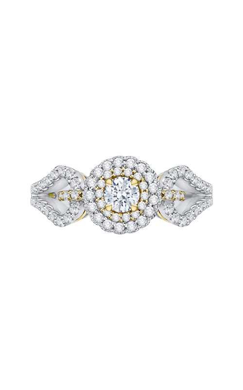 Shah Luxury Promezza Engagement ring PR0127ECH-44WY-.25 product image