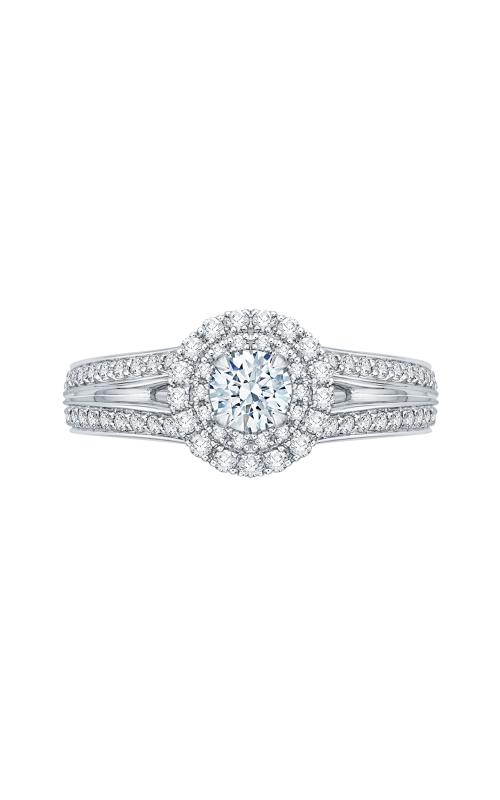 Shah Luxury Promezza Engagement ring PR0136ECQ-44W-.33 product image