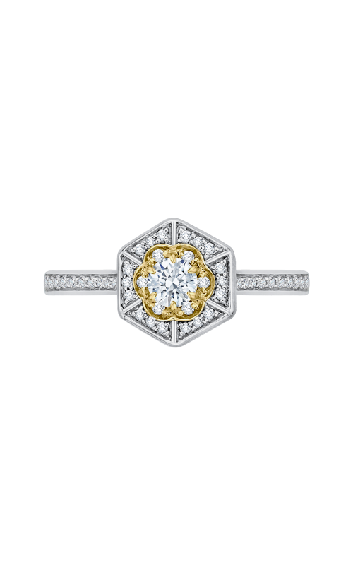 Shah Luxury Promezza Engagement ring PR0138ECH-44WY-.25 product image