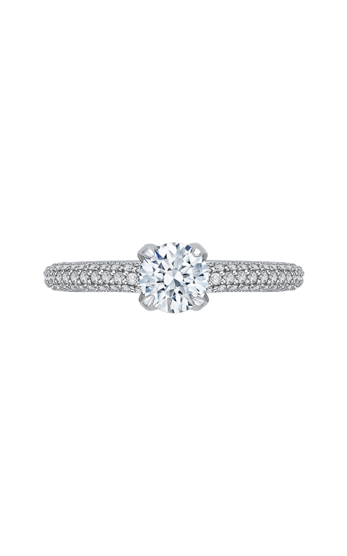 Shah Luxury Promezza Engagement ring PR0139ECQ-44W-.50 product image