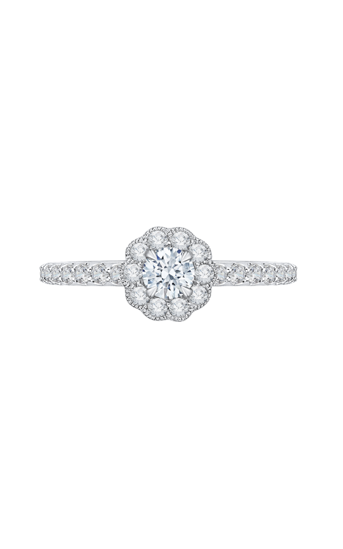 Shah Luxury Promezza Engagement ring PR0141ECQ-44W-.25 product image