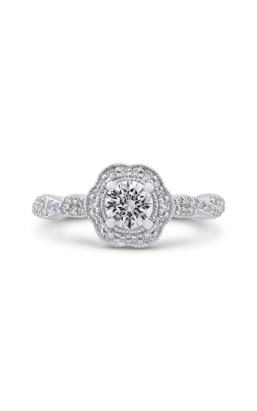 Shah Luxury Promezza Engagement ring PR0179ECQ-44W-.50 product image