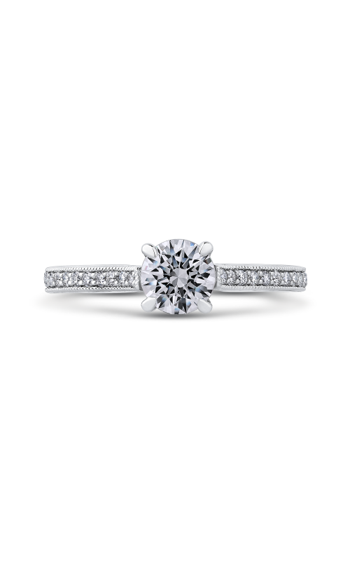 Shah Luxury Promezza Engagement ring PR0184ECQ-44W-.75 product image