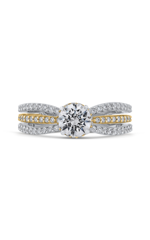 Shah Luxury Promezza Engagement ring PR0189ECQ-44WY-.75 product image