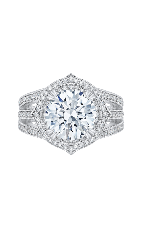 Shah Luxury Carizza Boutique Engagement ring QR0019K-40W product image