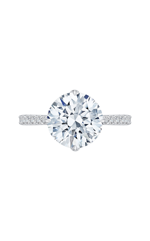 Shah Luxury Carizza Boutique Engagement ring QR0049K-40W-3.00 product image