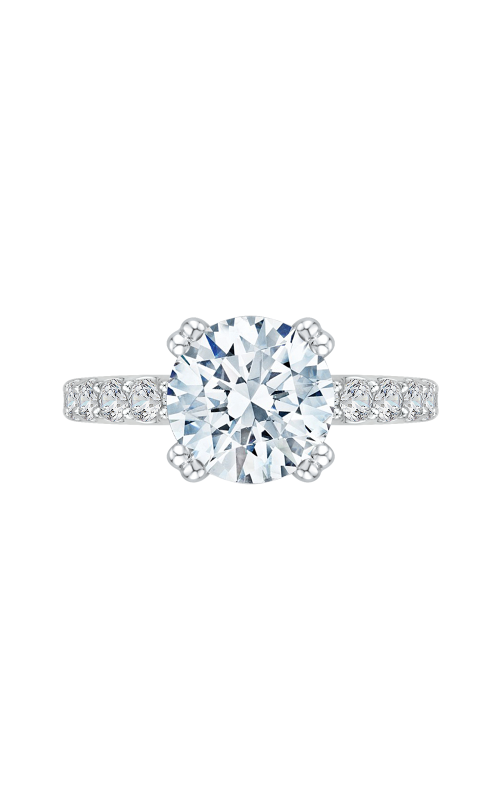 Shah Luxury Carizza Boutique Engagement ring QR0052K-40W-3.00 product image