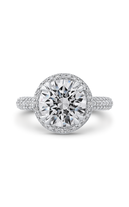 Shah Luxury Carizza Boutique Engagement ring QR0068EQK-40W-3.00 product image