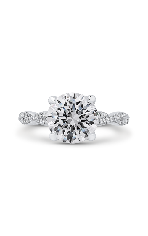 Shah Luxury Carizza Boutique Engagement ring QR0069EQK-40W-3.00 product image
