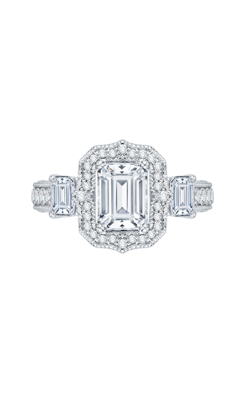 Shah Luxury Carizza Boutique Engagement ring QRE0014K-40W product image