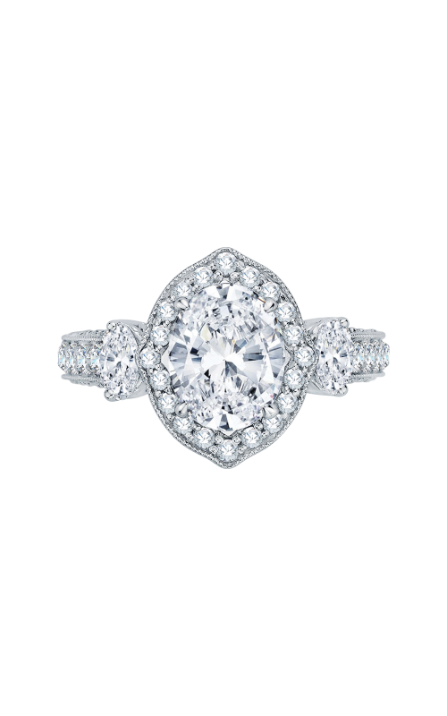 Shah Luxury Carizza Boutique Engagement ring QRO0014K-40W product image