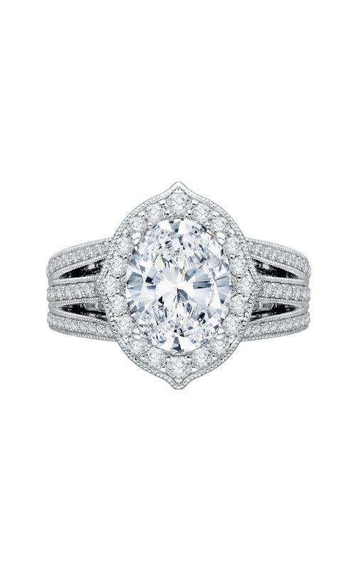 Shah Luxury Carizza Boutique Engagement ring QRO0019K-40W product image