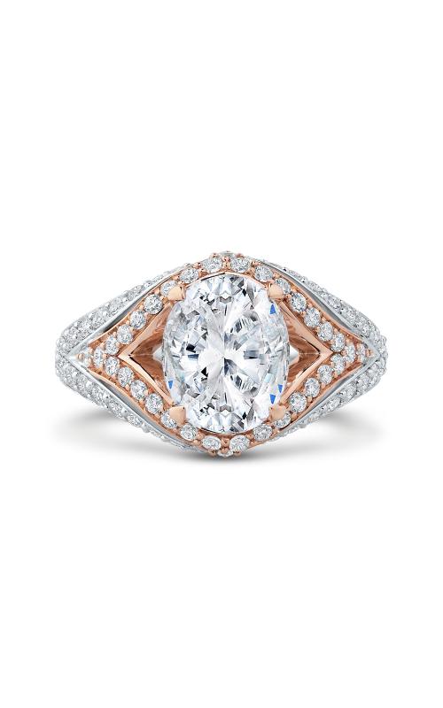 Shah Luxury Carizza Boutique Engagement ring QRO0066EQK-40WP-3.00 product image