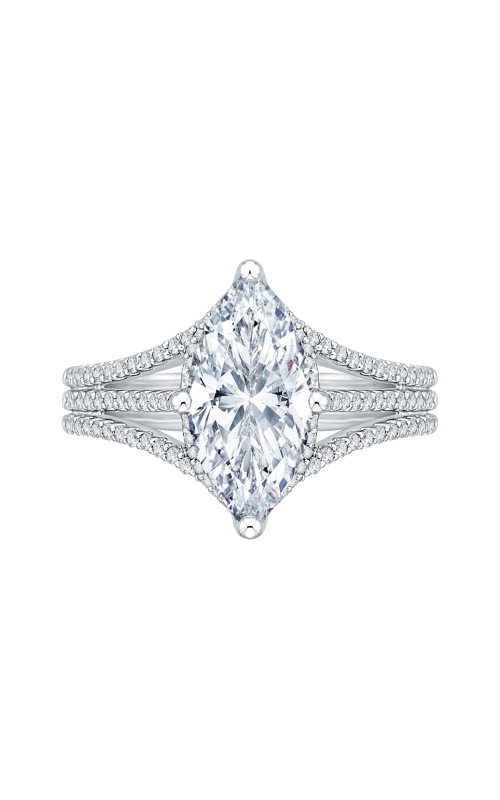 Shah Luxury Carizza Boutique Engagement ring QRQ0055EK-40W-3.00 product image