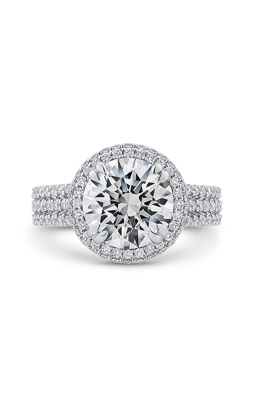Shah Luxury Carizza Boutique Engagement ring QR0046K-40W-3.00 product image