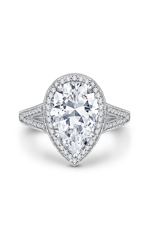 Shah Luxury Carizza Boutique Engagement ring QRA0043K-40W-3.00 product image