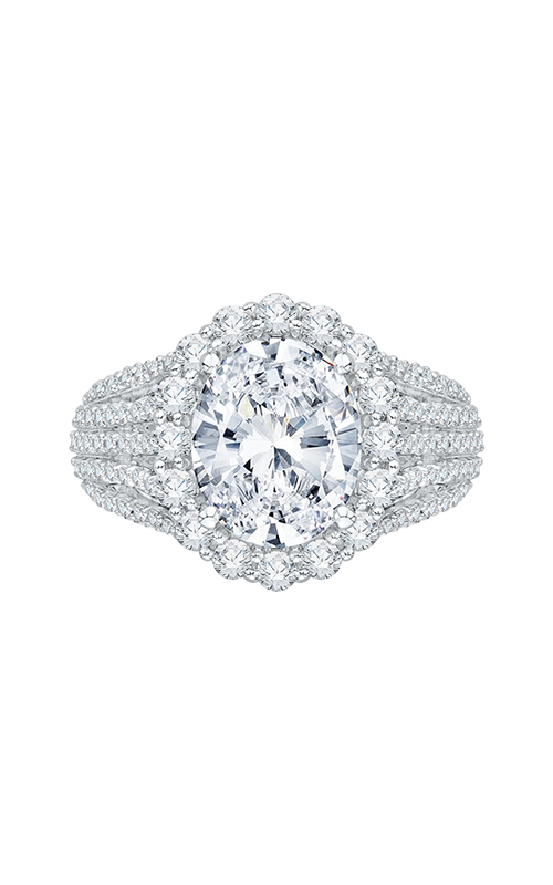 Shah Luxury Carizza Boutique Engagement ring QRO0020K-40W-3.00 product image
