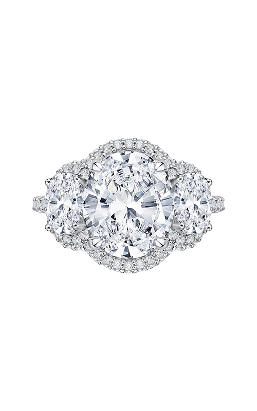Shah Luxury Carizza Boutique Engagement ring QRO0042K-40W-2.00 product image