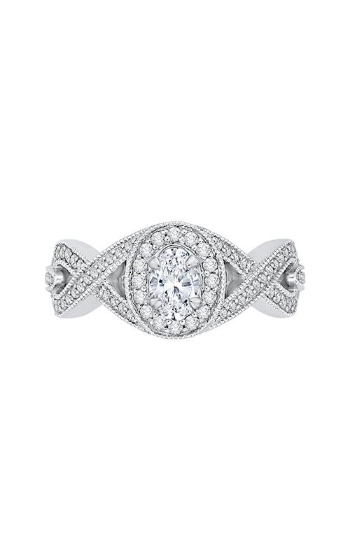Shah Luxury Promezza Engagement ring PRO0132ECQ-44W-.50 product image