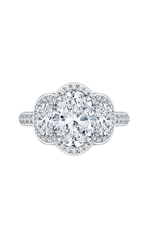 Shah Luxury Carizza Boutique Engagement ring QRO0034K-40W product image