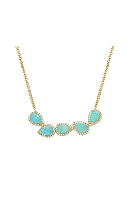 Shy Creation Colored Stone Necklace SC55004783 product image
