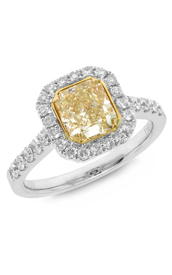 Shy Creation Fancy Yellow Fashion Ring CO28001426 product image