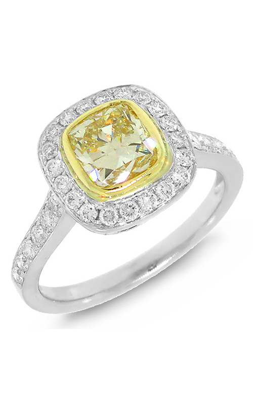 Shy Creation Fancy Yellow Fashion ring CO28001322Z4.5 product image