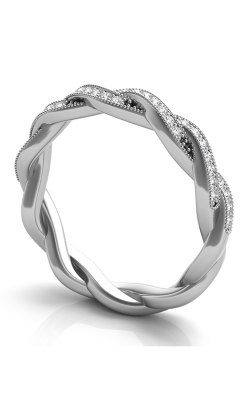 Deutsch & Deutsch Bridal Braided Wedding Band EN7213-BWG product image