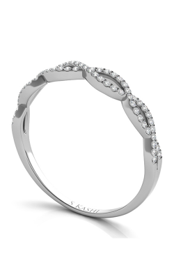S Kashi & Sons Criss Cross Wedding band EN7325-BWG product image