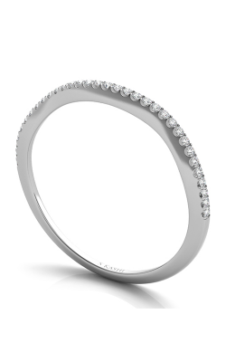 S Kashi & Sons Curved Wedding Band EN7333-BWG product image