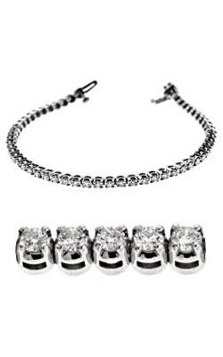 S Kashi & Sons Diamond Bracelet B4043-3WG product image
