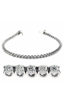 S Kashi & Sons Diamond Bracelet B4044-2WG product image