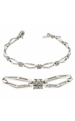 S Kashi & Sons Diamond Bracelet B 154WG product image