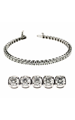 S Kashi & Sons Diamond Bracelet B4043-5WG product image