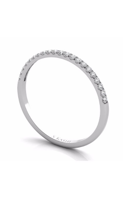 S Kashi & Sons Prong Set Wedding Band EN7330-BWG product image