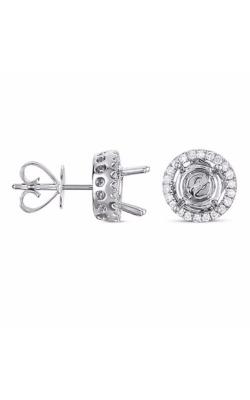 S Kashi & Sons Halo Earrings E7740WG product image