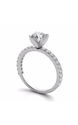 S Kashi & Sons Side Stone Engagement Ring EN7581WG product image