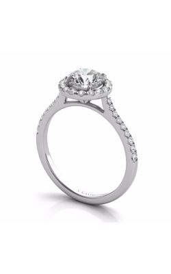 S Kashi & Sons Halo Engagement ring EN7370-50WG product image