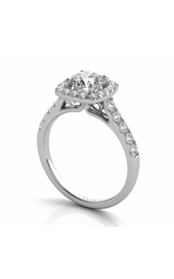OPJ Signature Halo - Cushion Engagement Ring EN7452-1WG product image