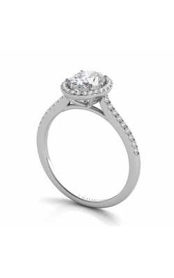Deutsch & Deutsch Bridal Halo Engagement Ring EN7512-7X5MWG product image