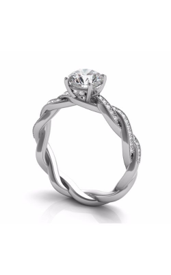 S Kashi & Sons Braided Engagement Ring EN7213WG product image