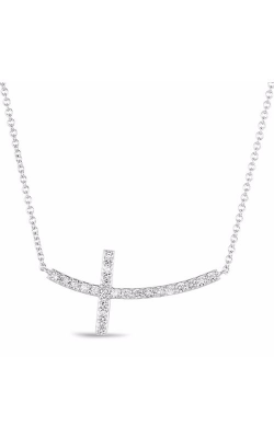 S Kashi & Sons Cross Necklace N1194WG product image